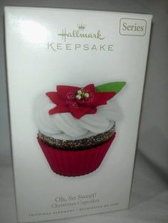 """Hallmark Ornament 2010 """"OH, SO SWEET!"""" 1st in series"""