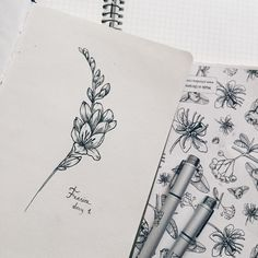 Freesia by Cathy Ma.artwork Freesia by Cathy Ma. Small Flower Tattoos, Cute Small Tattoos, Fresia Flower, Future Tattoos, New Tattoos, Beginner Tattoos, Floral Drawing, Beautiful Tattoos, Black Tattoos