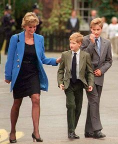 Any sane person would have left long ago. But I cannot. I have my sons. ~Princess Diana