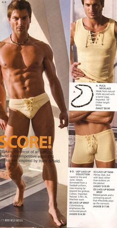 UnderGear offers a variety of underwear, fitness wear, swimwear and sportswear for men. Choose from a wide selection of fashionable underwear in various styles including thongs, bikini briefs, boxers.