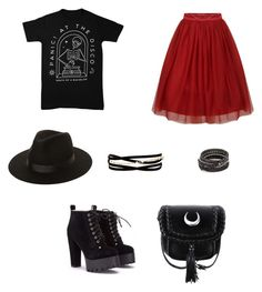"""""""Untitled #5"""" by samgumgee on Polyvore featuring Lack of Color, Kenneth Jay Lane and Chan Luu"""