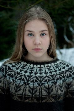 Ravelry: Veðurfræðingurinn - weatherman pattern by G. Fair Isle Knitting Patterns, Fair Isle Pattern, Knit Patterns, Icelandic Sweaters, How To Purl Knit, Ravelry, Free Knitting, Bunt, Knitwear