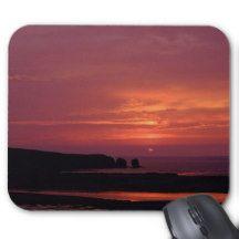 Tequila Sunrise Sunset Mouse Pad