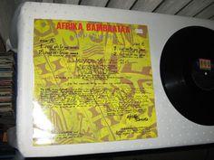 AFRIKA BAMBAATAA - Just Get Up And Dance 12  MAXI Vinyl