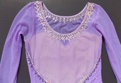 Dazzling Crystal Sparkle Lilac Girl's Competition Figure Skating Dress | eBay