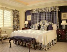 chambre romantique super bleu-ivoire-tête-lit-ciel-bout