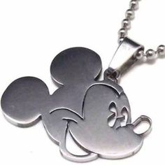 Mickey Mouse Stainless Steel Pendant