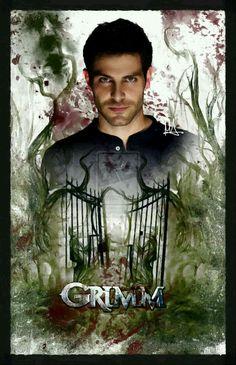 DeviantArt: More Like Grimm - Season 4 by VeilaKs Grimm Tv Series, Grimm Tv Show, Nbc Grimm, Grimm Cast, Grimm Season, Nick Burkhardt, David Giuntoli, Tv Series To Watch, Fantasy Tv