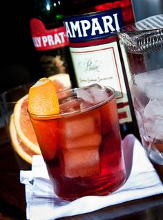 """Paolo, would you please make up some Negronis and serve them to us on the veranda?"" - The Negroni"