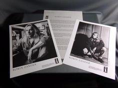 "Robin Zander ""Robin Zander"" 1993 Promotional Photographs & Promo Biography, Cool"