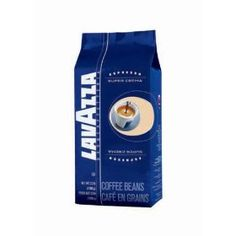 Lavazza Super Crema Espresso Whole Bean Coffee, 2.2-Pound Bag.  List Price: $32.99  Savings: $7.82 (24%)