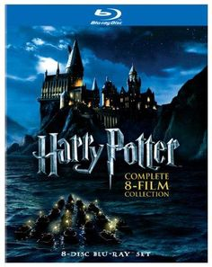 Harry Potter: Complete 8-Film Collection [Blu-ray] - color