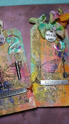 ScrappyCamperSisters: Tim Holtz March Tag Challenge using Tim Holtz, Ranger, Idea-ology, Sixxiz and Stamper's Anonymous products; Atc Cards, Card Tags, Journal Cards, Timmy Time, Tim Holtz Dies, Weird Gifts, Landscape Quilts, Handmade Tags, Paper Tags