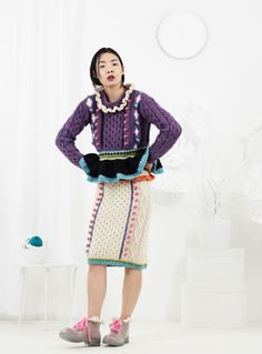 #Katie Jones #Knit and Crochet #Fashion - Let Them Eat Cake
