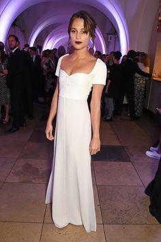 Alicia Vikander in Louis Vuitton - BFI London Film Festival Awards, London - October 15 2016