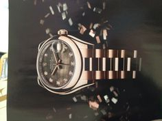 Rolex Oyster Perpetual Datejust. Rose gold. Mother of Pearl. Diamonds.