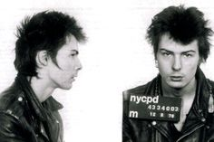 Sid Vicious (1978): Arrested for the murder of girlfriend Nancy Spungen in New York
