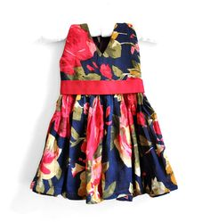 Baby Dress  Baby Girl Dress  Size 6  9 months  by PaisleyMagic, $36.00