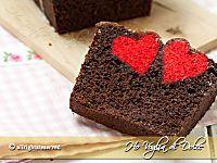 Plumcake con cuore a sorpresa ricetta