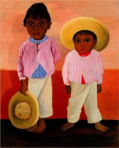 Fan account of Diego Rivera, a Mexican muralist painter, an outspoken member of the Mexican communist party and husband to Frida Kahlo. Diego Rivera Art, Diego Rivera Frida Kahlo, Frida And Diego, Mexican Artists, Mural Painting, Oil Paintings, Naive Art, Museum Of Modern Art, American Art