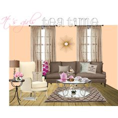 Tea Time by zoenian on Polyvore