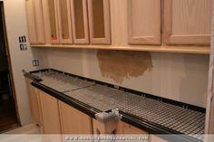 DIY Pour In Place Concrete Countertops – Part 1