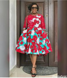 Ankara Styles: long and short gown style - Od9jastyles