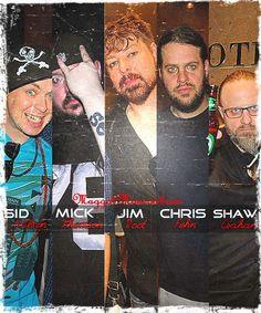"""Sid, Mick, Jim, Chris & Shawn """"Clown"""""""
