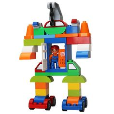 Duplo robot -You can find Lego duplo and more on our website.Lego Duplo robot -Lego Duplo robot -You can find Lego duplo and more on our website. Robot Lego, Lego Duplo Train, Lego Trains, Lego Mecha, Pokemon Lego, Lego Activities, Lego Games, Legos, Lego Avengers