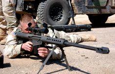 El fusil de francotirador es un tipo de arma de fuego de precisión que permite el disparo a objetivos a muy larga distancia.