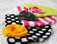 DIY Knit Baby Hats