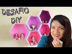 DIY   Nichos Hexagonais de Papelão #NãoéCopia - YouTube
