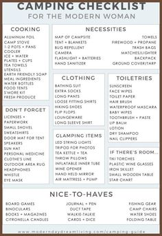Summer Camp Packing List   Little  Little  Littles For Me