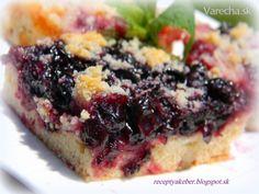 Ovocný koláč (fotorecept) - Recept