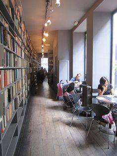 [Cafe at Merci, Paris] by José Pedro Cordeiro