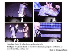 Which is why these two idiots are my OTP... EunHae, SUJU
