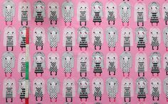 Marys by Leena Renko for Verson Puoti Print Fabrics, Printing On Fabric, Kids Outfits, Cool Stuff, Pictures, Diy, Design, Photos, Fabric Printing