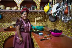 In almost 30 years, Abigail Mendoza Ruiz has cooked up Zapotec cuisine in her Oaxaca restaurant.