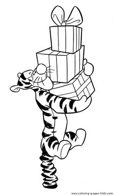 Tigger Winnie the Pooh color page, disney coloring pages, color plate, coloring sheet,printable coloring picture