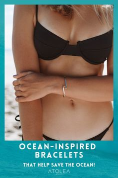 A little bit sparkle, a little bit sun. Bring your love for the ocean wherever you go with our jewelries. Check out more ocean-inspired bracelets at atoleajewelry.com