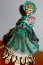 Vintage Underwriters Laboratories Portable Lamp Aladdin Giftware figurine GIRL