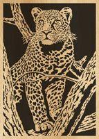 Scroll sawpattern 086-leopard by Alex Fox