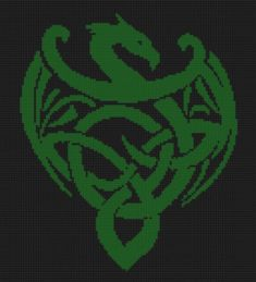 Celtic Dragon Cross Stitch Pattern by MotherBeeDesigns on Etsy, $0.99