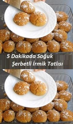 Cold Semolina Dessert in 5 Minutes - - Sweet Recipes, Cake Recipes, Dessert Recipes, Italian Lemon Pound Cake, Salted Caramel Brownies, Breakfast Toast, Iftar, Turkish Recipes, Recipe Images