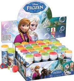 Bolle di Sapone 60 ml Frozen