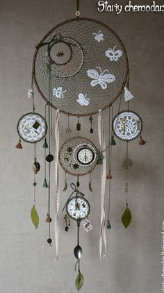 Another intricate but definitely beautiful piece. Create different styles of dream catchers with a common theme and attach them to…