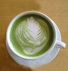 NOTHING brings more joy to my work day than a soy green tea latte....