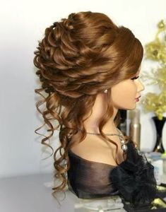 Discover more about simple bridal hair Bride Hairstyles, Pretty Hairstyles, Elegant Wedding Hair, Hair Wedding, Post Wedding, Curly Hair Styles, Natural Hair Styles, Pinterest Hair, Pinterest Blog