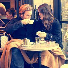 Reminds me of John & Heather's engagement Photos @Heather Elema & @Kristin Bakker <3