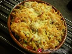 Ταλιατέλες στο φούρνο με ντομάτα και τυριά #sintagespareas